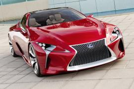 Lexus LF LC design concept winner. Detroit auto 2012.