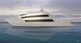 70m priona. A scott henderson yacht.