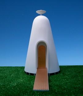 Strangest new concept: personal prayer transmission vessel.
