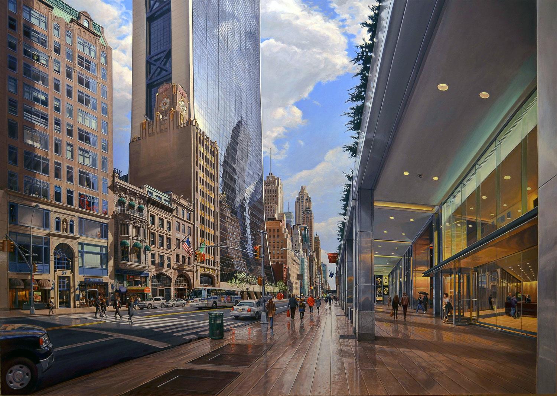 Robert neffson. Urban photorealism. – DesignApplause