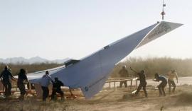 World's biggest paper airplane flies 100mph.