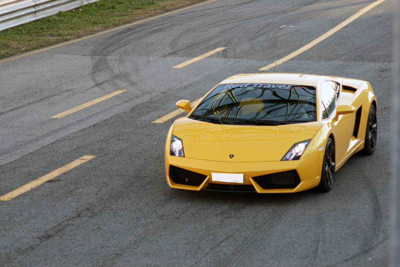 Lamborghini new driver\'s wanted crash video. – DesignApplause