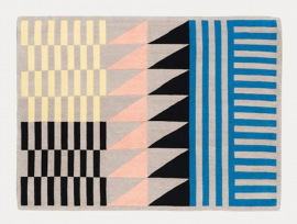 Folk rug by sylvain willenz for chevalier edition.