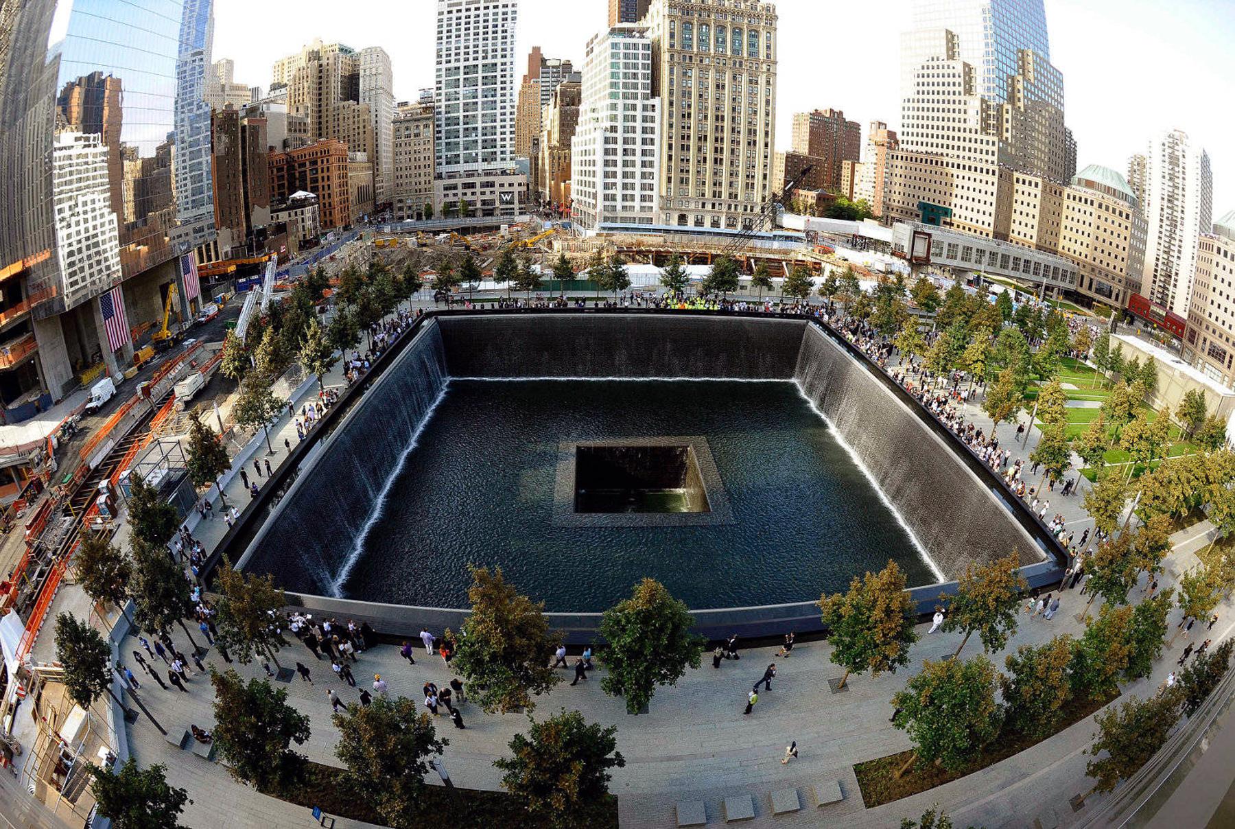 9 11 memorial 2012 designapplause - Ground zero pools ...