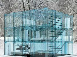 Glass house. Carlo santambrogio and ennio arosio.