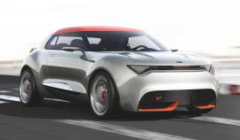 Kia provo concept car.