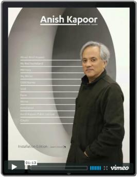Anish kapoor 'living catalogue' wins rich media award.
