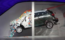 Car companies at milan 2013.