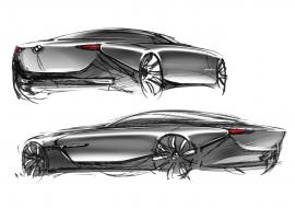 2013 BMW pininfarina gran lusso coupé.