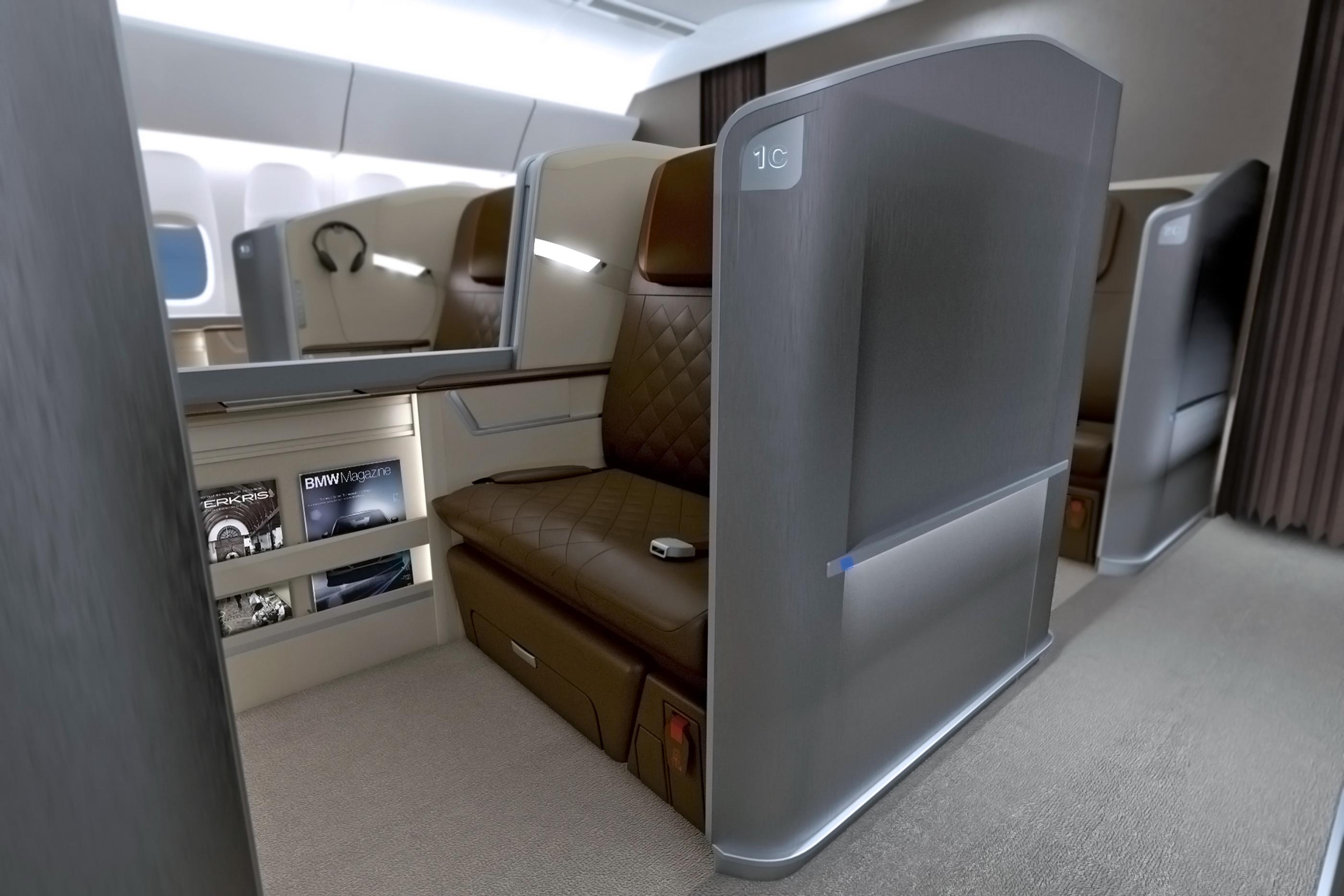 Designworksusa Creates Next Generation First Class Seats