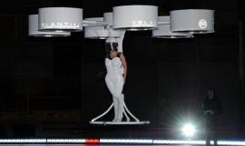 Lady gaga's flying dress concept: Volantis.