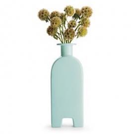Celadon footed vase: michael graves. Designer gifts 2013.