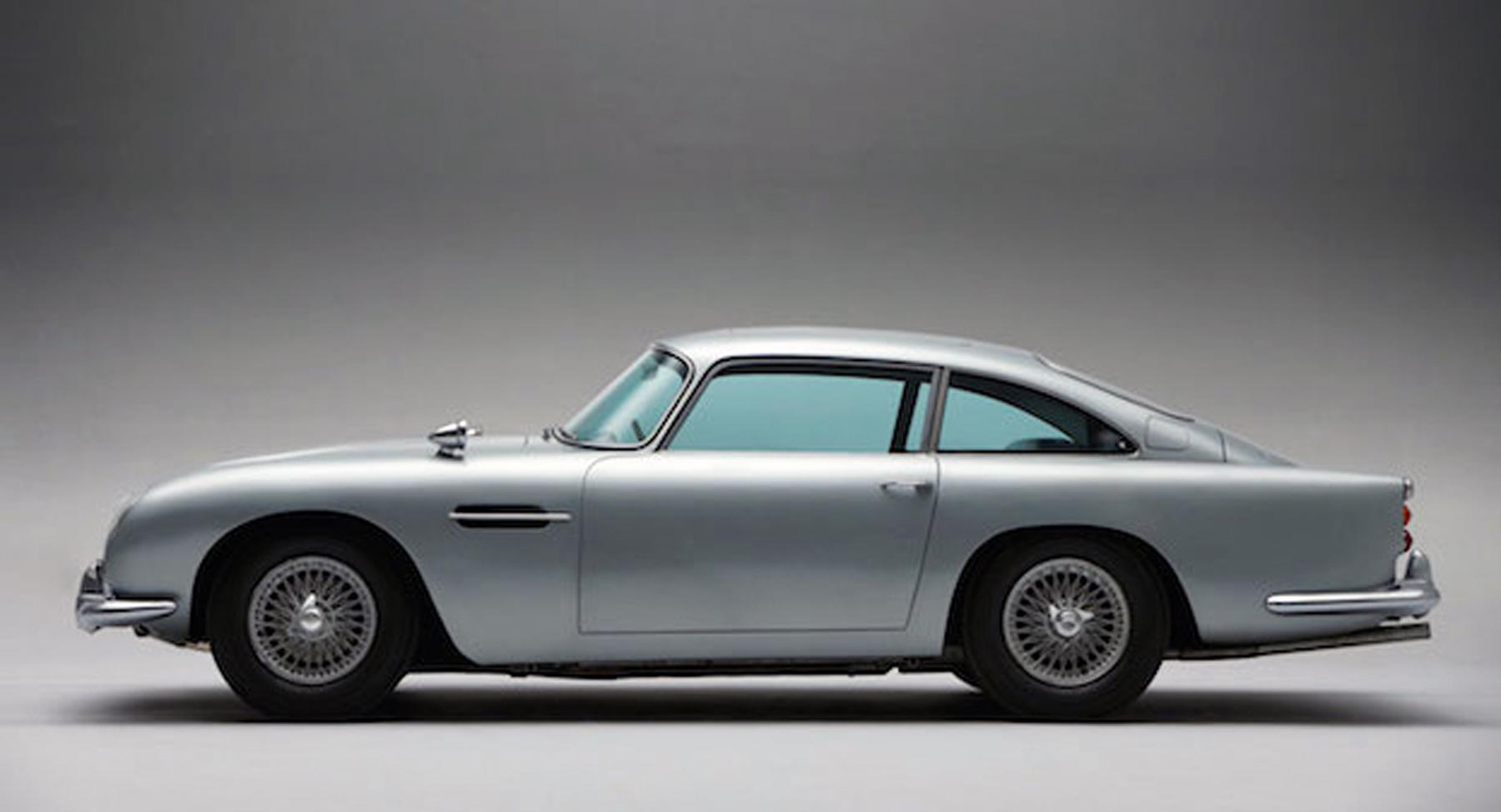 built for bond: aston martin debuts unique car for 'spectre