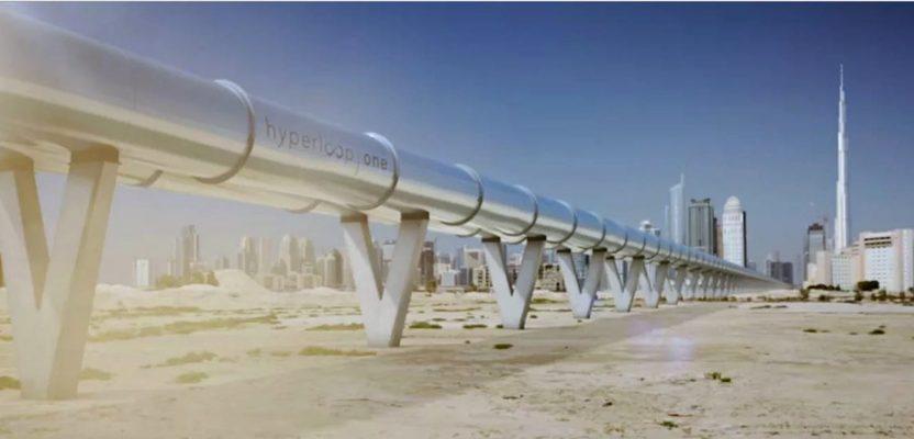 virgin hyperloop sets a new speed record.