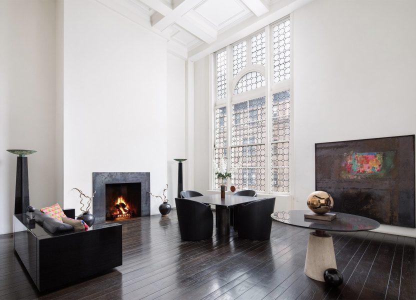massimo & lella vignelli's nyc apartment 6e up for sale.