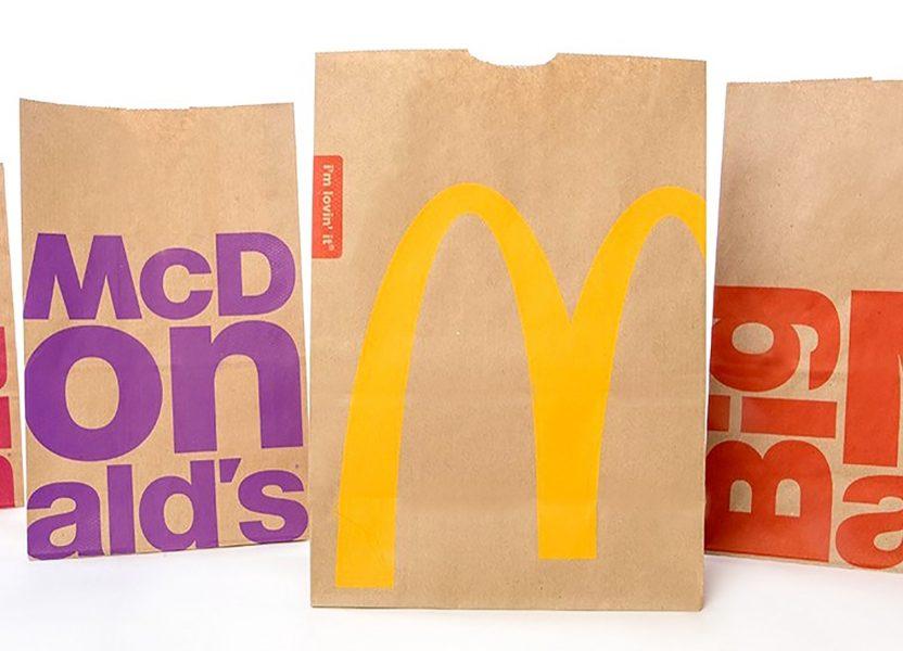 mcdonald's makes a bold environmental pledge using green packaging.