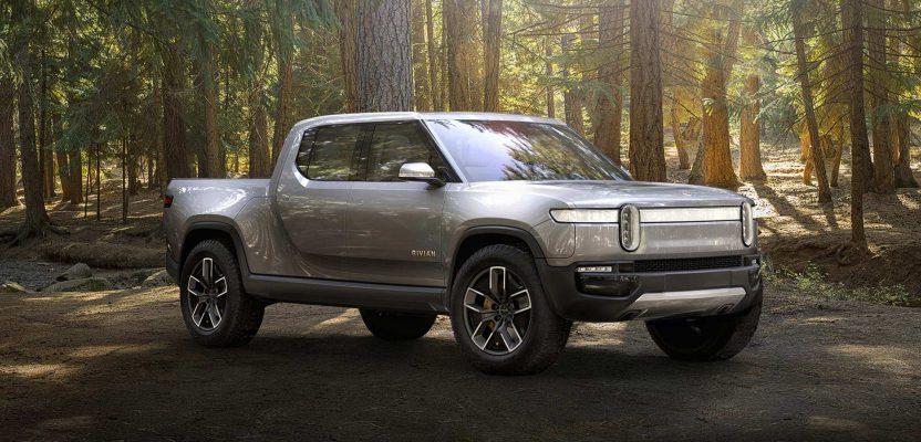 usa all-electric truck startup rivian generating investor interest.